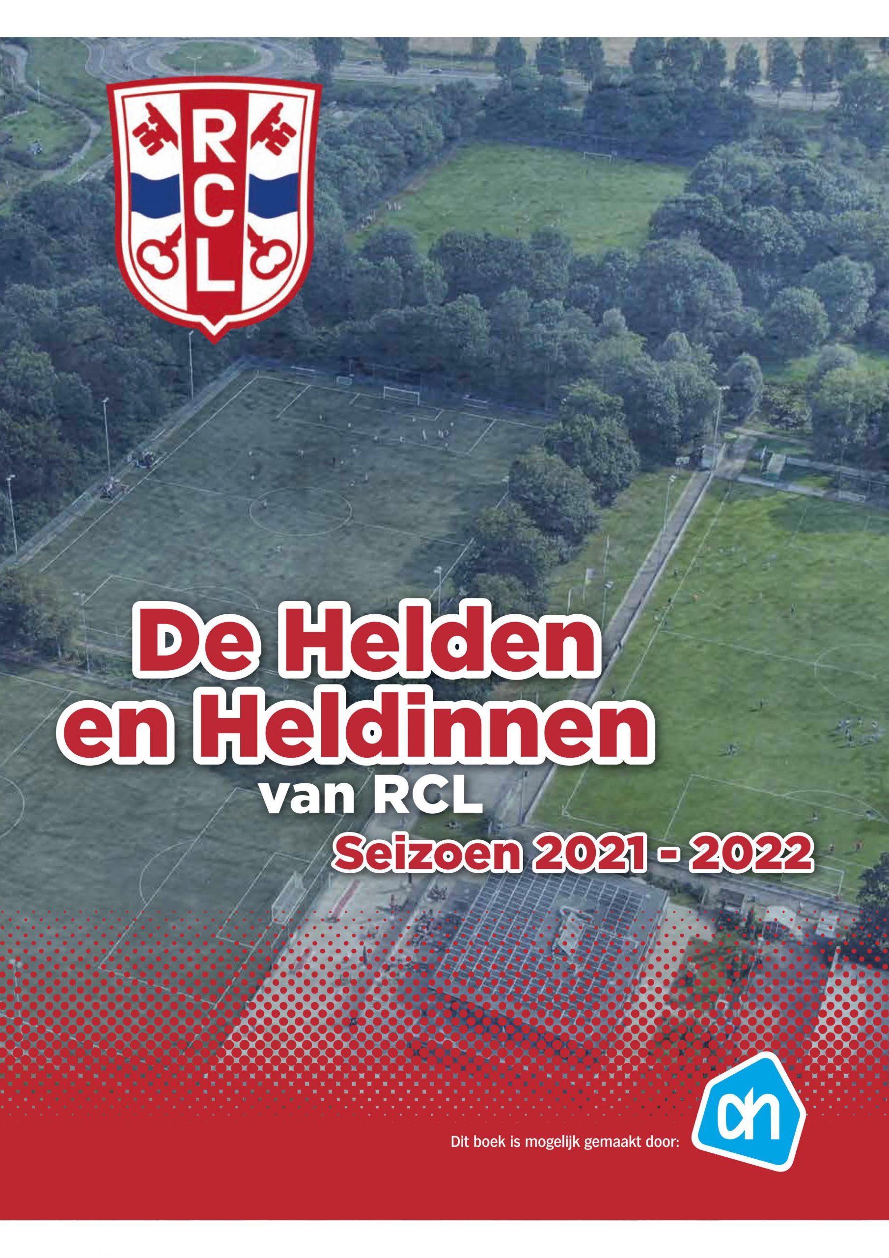 De Helden en Heldinnen van RCL - Albert Heijn voetbal album