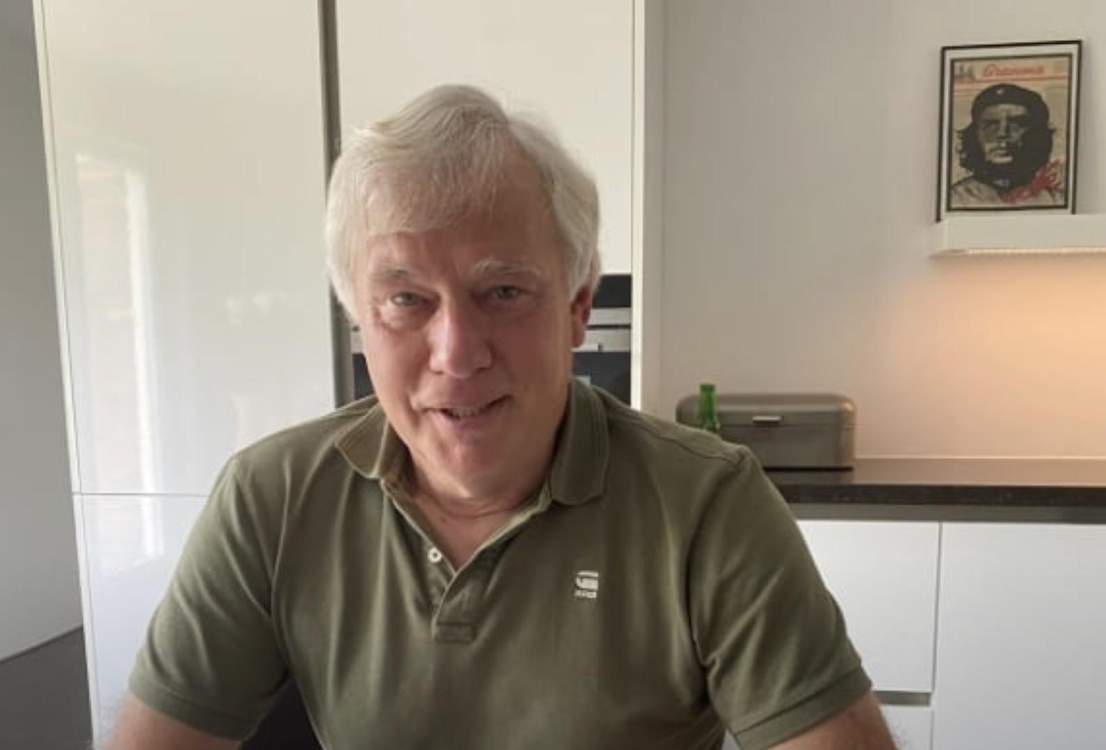 RCL Voorzitter Dick van der Bijl in de Skybox