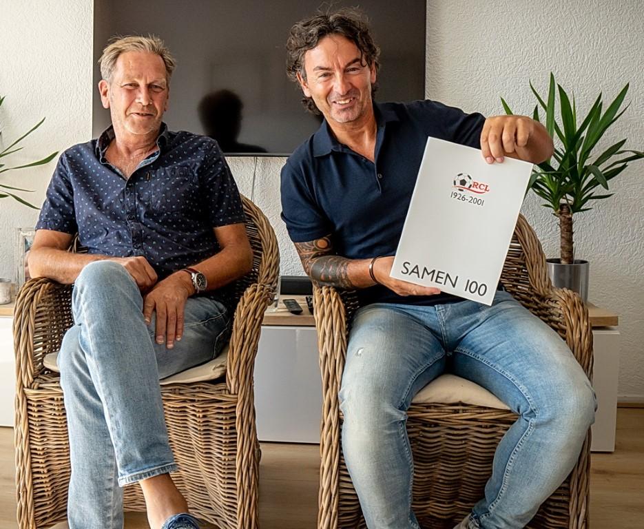Oude clubhelden: Pierre van Gemerden en Richard Ederveen