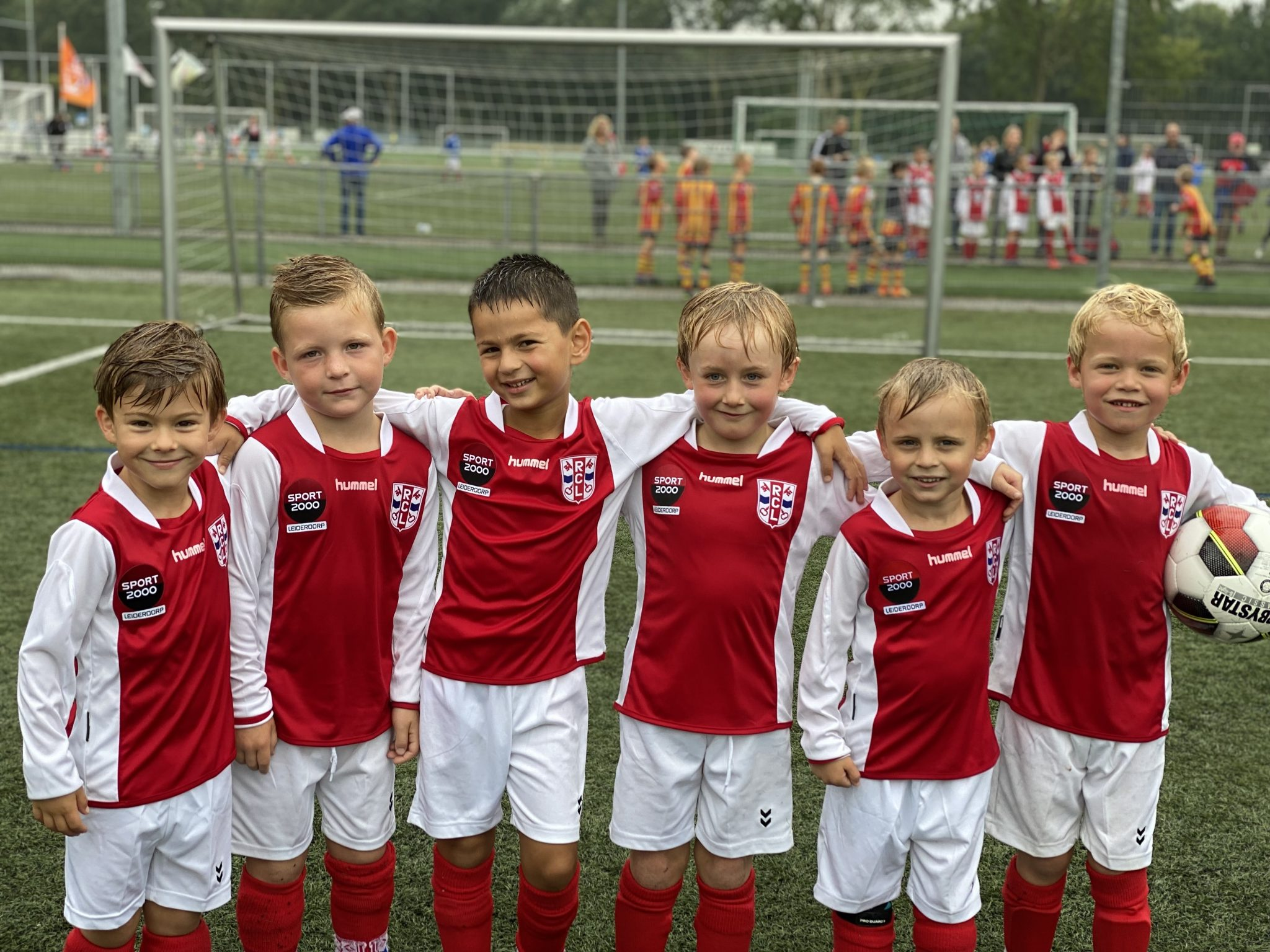 Van mini pupillen tot een echt team!