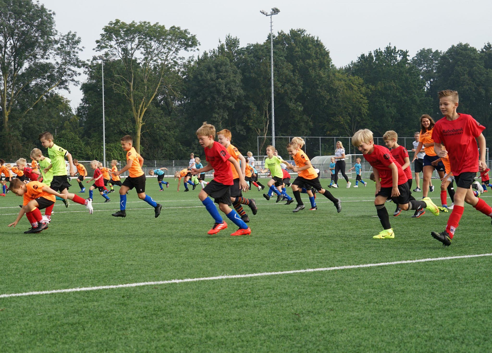 Rabobank Voetbalstart weer een groot succes