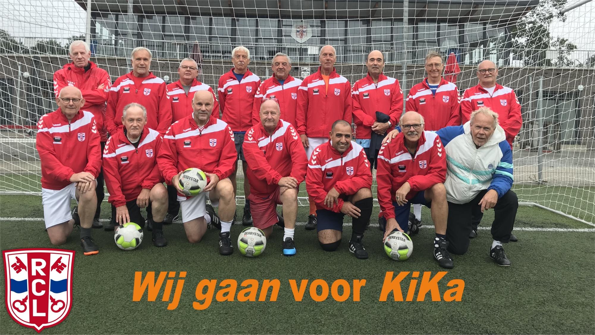 Walking Football voor KiKa - 11 september!